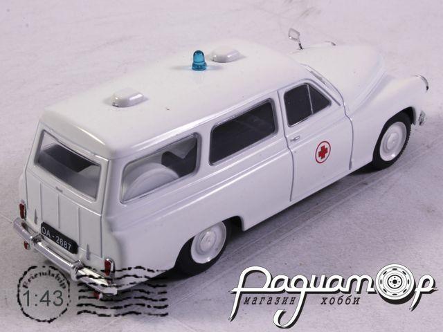 Kultowe Auta PRL-u Spec-Wydanie, Warszawa 202A Ambulance (1960)
