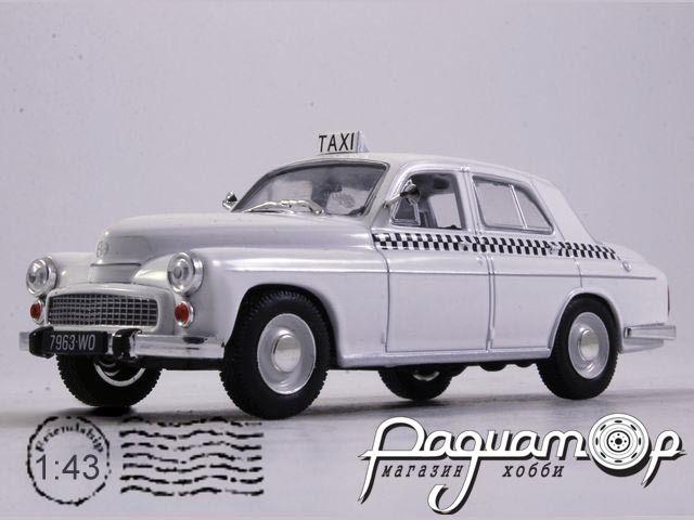 Kultowe Auta PRL-u Spec-Wydanie, Warszawa 203 Taxi (1960)