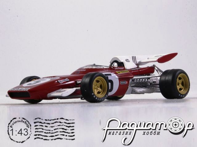 Ferrari 312 B2 №5 Formula-1, Clay Regazzoni (1971) 7174005
