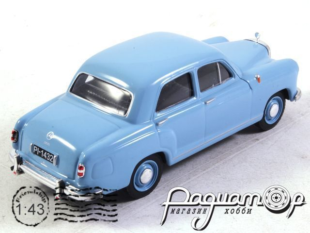Kultowe Auta PRL-u №170, Mercedes-Benz W120 (1954)