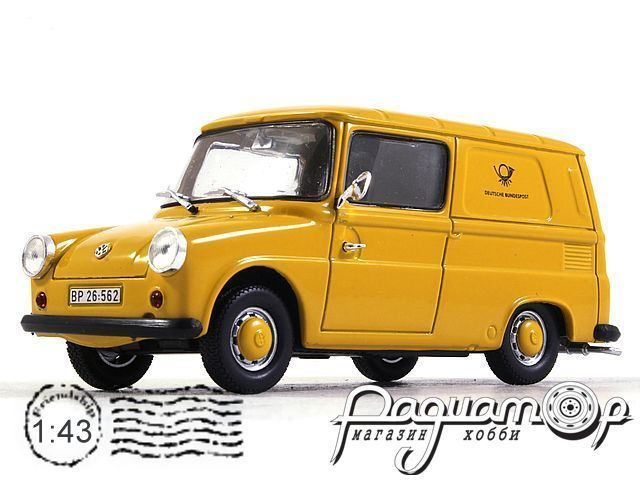 Volkswagen Typ 147 Fridolin, Deutsche Bundespost (1965) 7536101