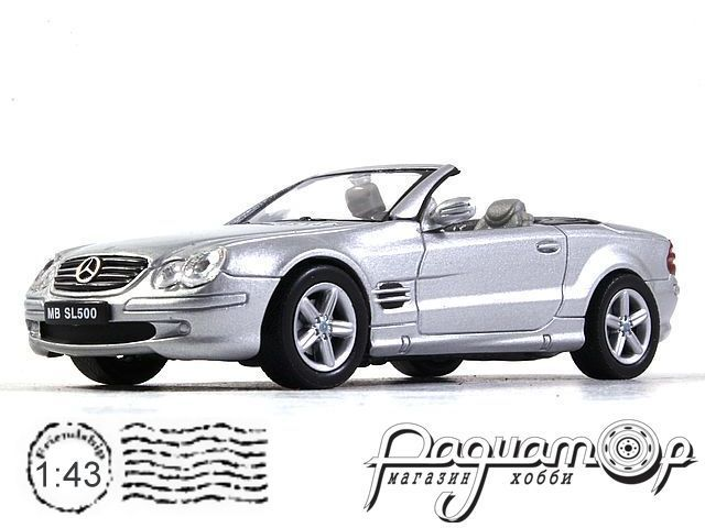 Mercedes-Benz SL500 (2002) Welly (B)