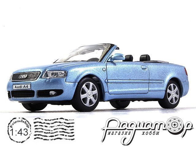 Audi A4 cabriolet (2004) Cararama (B)