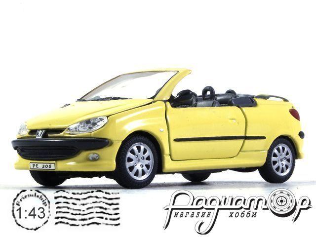 Peugeot 206 CC Cabriolet (2000) Cararama (B)
