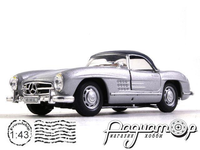 Mercedes-Benz 300SL (1957) Cararama (B)