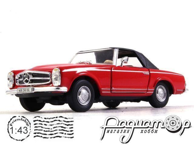 Mercedes-Benz 280SL (1968) Cararama (B)