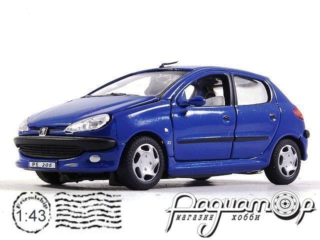 Peugeot 206 CC (1998) Cararama (B)