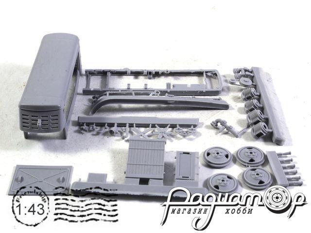Сборная модель ЗИФ-55 (1970) mkaut1948