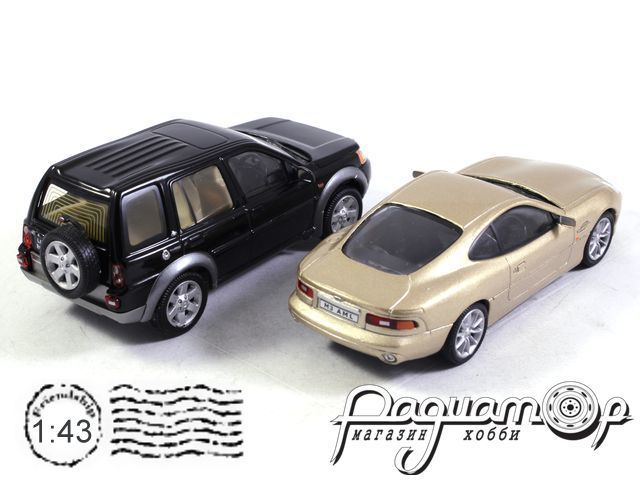 Набор Aston Martin DB 7 + Land Rover Defender (B)
