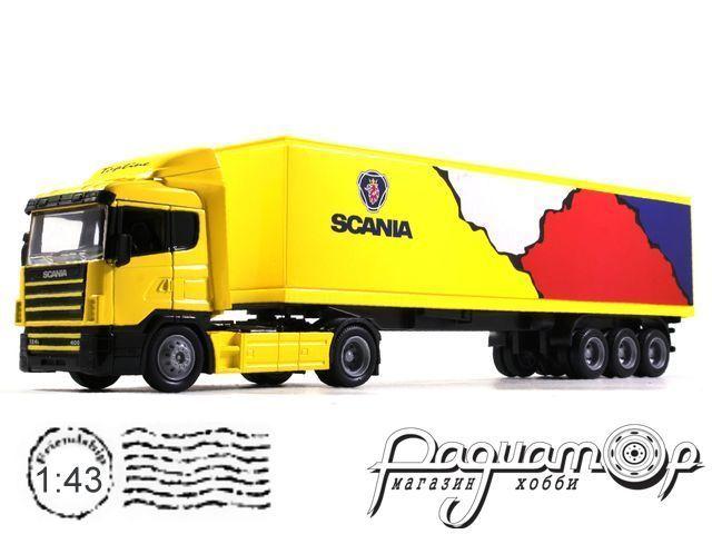 Scania R124/400 с полуприцепом (1995) 180401