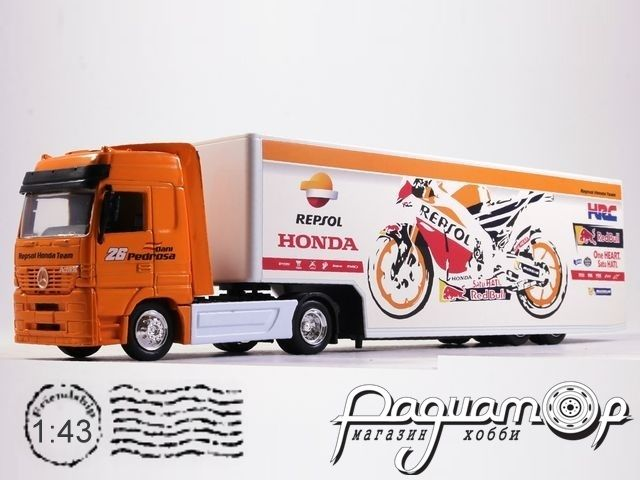 Mercedes-Benz Actros с полуприцепом Repsol Honda Team (1996) 180402