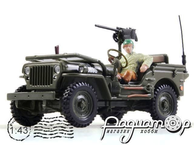Jeep Willys 4x4 Open Top with figure (1958) 90141