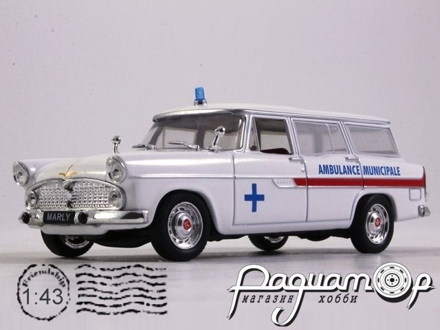 Simca Marly Ambulance Municipale (1956) 7495010