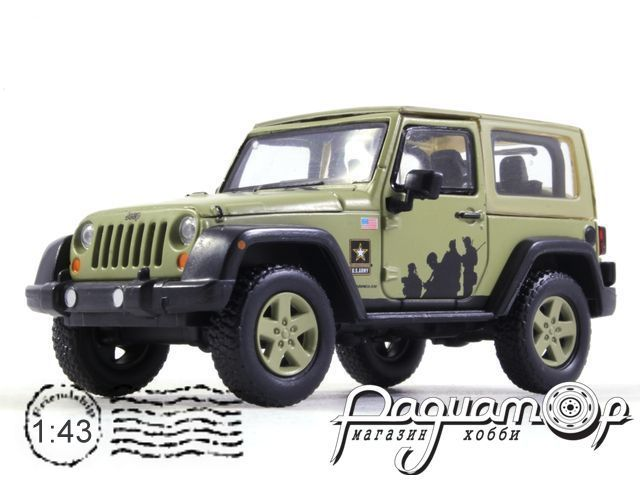 Jeep Wrangler 4х4 U.S.Army Limited Edition (Hard Top) (2012) 86042