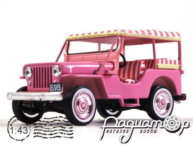 Jeep Surrey CJ3B Elvis Presley