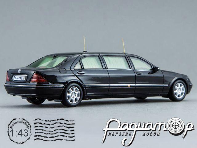 Mercedes-Benz S600 Pullman Guard W220 (лимузин В. Путина, первый срок) (1998) GON220 (TI)