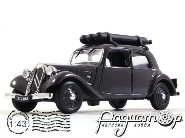 Citroen Traction 11 Legere Gazogene (1941) (B)