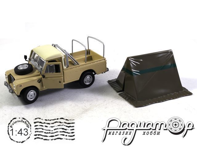 Land Rover Series III с палаткой (1983) (B)
