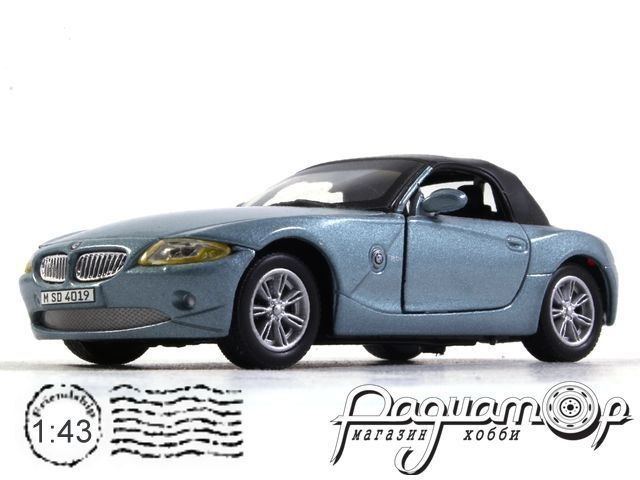 BMW Z4 Roadster (E85) Close Roof (2002) (B)