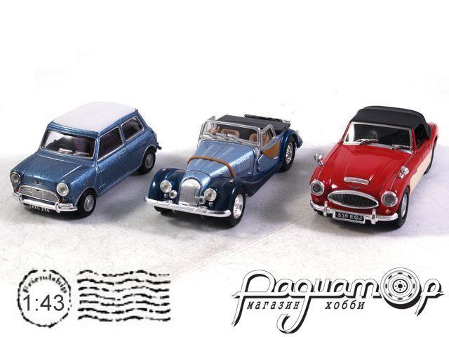 Набор Mini Cooper + Morgan Plus Eight Convertible+ Austin Healey Soft(B)