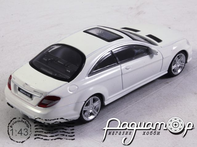 Mercedes-Benz CL 63 AMG Coupe (2008) (B)