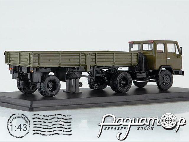 КАЗ-608В с полуприцепом ОДАЗ-885 (1976) SSM7046