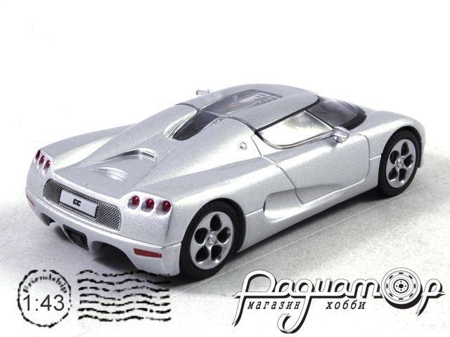 Суперкары №31, Koenigsegg CC8S (2002) (L)