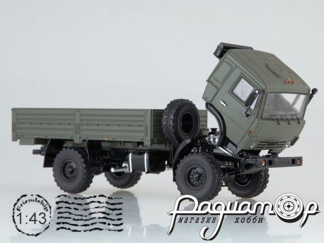 КАМАЗ-4350 4х4 Мустанг (с тентом) (2000) SSM1320