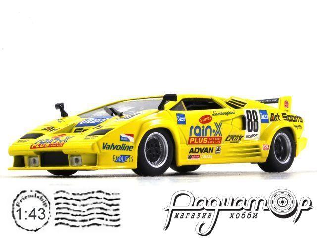Lamborghini Countach 25° Anniversario Competizione №88, Rain-X, T.Wada/S.Ikezawa (1994) WB515