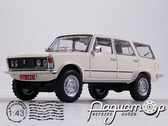 Kultowe Auta PRL-u №169, Fiat 125P 4x4 (1970)