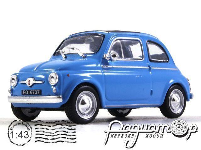 Kultowe Auta PRL-u №166, Fiat 500 (1960)