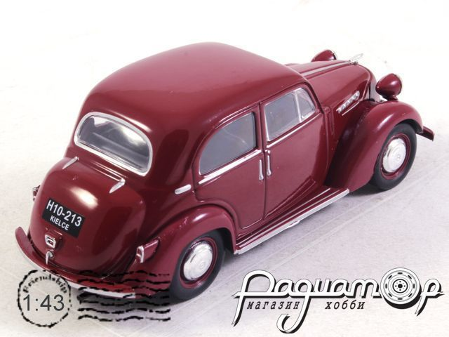 Kultowe Auta PRL-u №181, Simca 8 (1937)