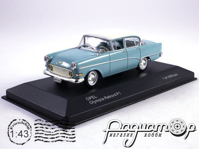 Opel Olympia Rekord P1 (1958) 179637