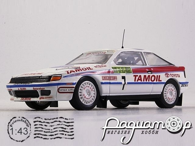 Toyota Celica GT4 №7, Rally Alsace (1992) 232 (L) 3470