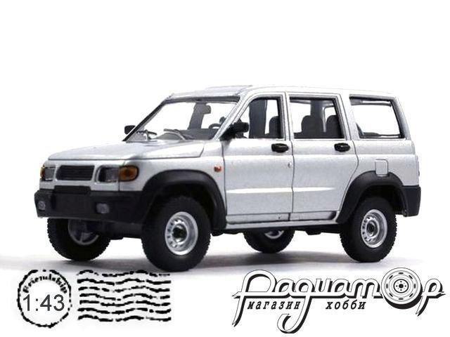 Автолегенды СССР и Соцстран №224, УАЗ-3162 «Симбир» (2000) серебристый