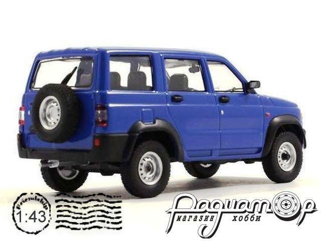 Автолегенды СССР и Соцстран №224, УАЗ-3162 «Симбир» (2000) синий