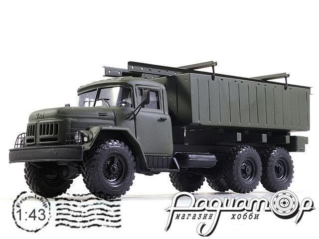 ЗИЛ-131 береговое звено пантонной переправы (1966) 180517