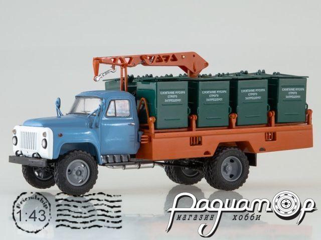 Контейнерный мусоровоз М-30 (53) (1980) SSM1334