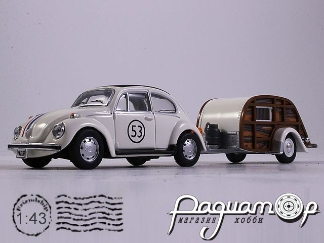 Volkswagen Beetle №53 with Caravan (1938) 14811
