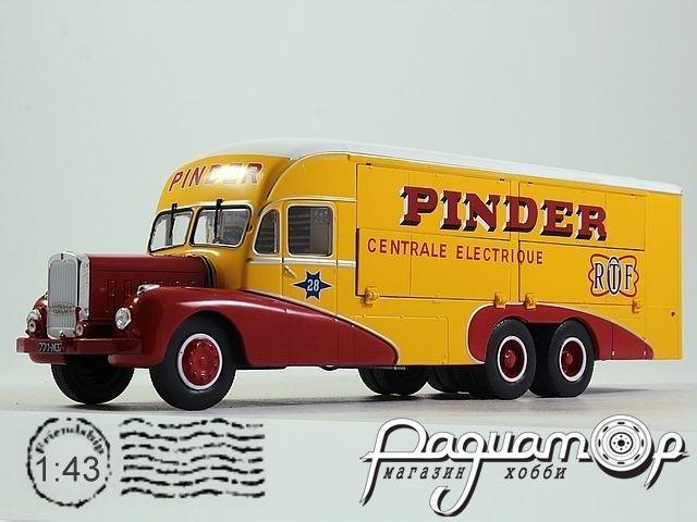 Bernard 28 Electrical Truck Pinder Circus (1951) PINC01 (I) 0947