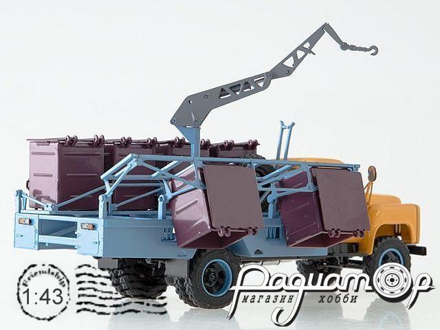 Контейнерный мусоровоз М-30 (53) ранний (1980) SSM1333