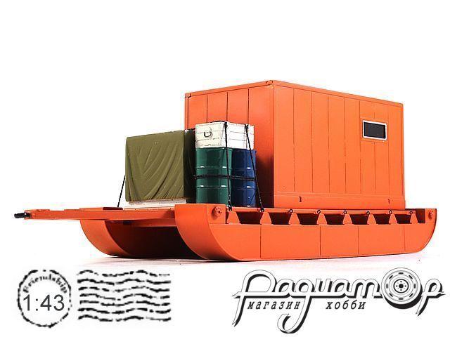 Сани грузовые с бытовкой (для Харьковчанки) 180608