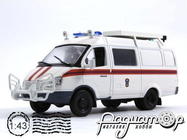 ГАЗ-24-10 «Волга» Милиция СССР (1985) 1713