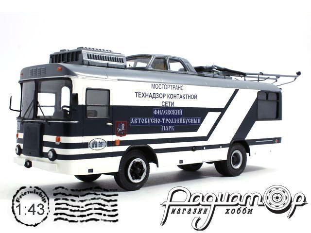 Сборная модель Троллейбус КТГ-1 Мосгортранс (1980) 180618