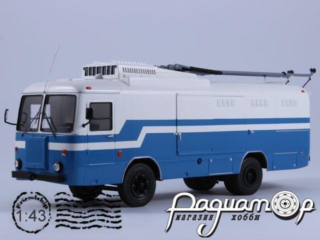 Сборная модель КТГ-1 грузовой фургон (1976) 180620