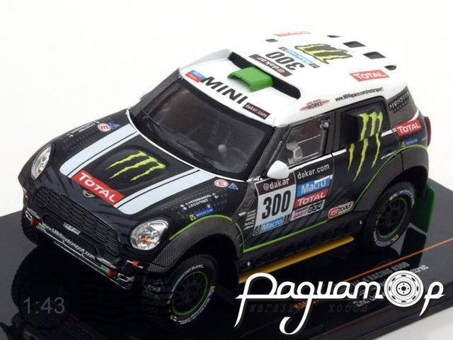 Mini All 4 Racing №300, Rally Dakar (2014) RAM577P