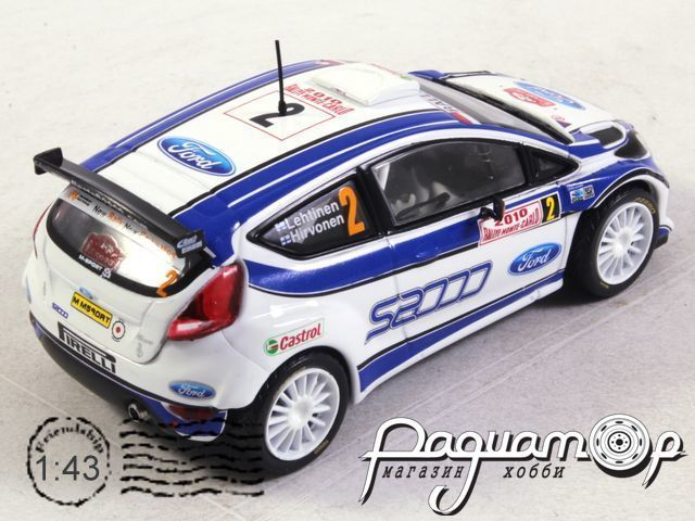 Ford Fiesta S2000 №2, Rally Monte Carlo (2010) ITR072