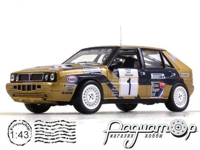Lancia Delta Integrale, №1, Rallye Elpa (1988) ITR083