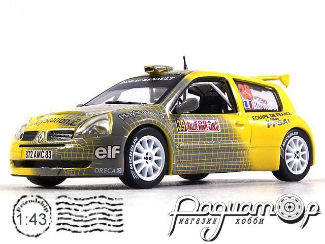 Renault Clio S1600 №39, Rally Monte Carlo (2004) ITR079