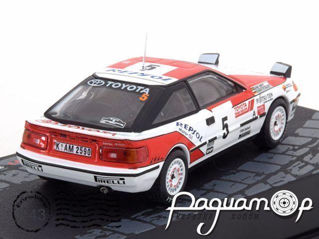Toyota Celica GT4 №5, Rally Catalunya (1991) ITR117